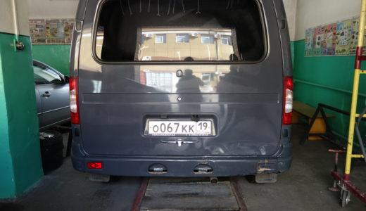 Автомобиль ГАЗ-2217 АО «Хакасэнергосбыт» (Респ. Хакасия, г. Абакан)