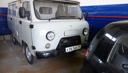 Автомобиль УАЗ 374195 АО «Хакаэнергосбыт» (Респ. Хакасия, г. Абакан)