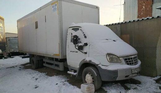 Фургон грузовой 2834 ЕМ ВАЛДАЙ (Московская обл.)